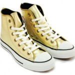 Chuck Taylor All-Star High Metallic GOLD Zipper