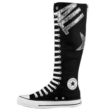 82b5a66f35b1 Back Converse-All-Star-XX-Hi-Black-Glitter-3