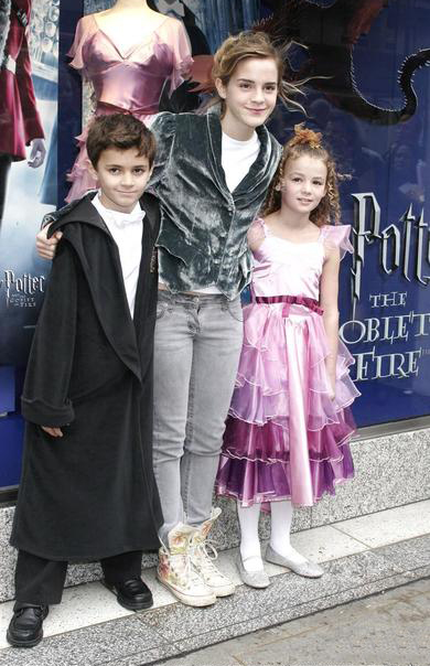 Promoting Harry Potter and the Goblet of Fire
