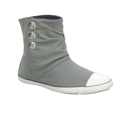 Converse Women's Chuck Taylor Light Canvas Ankle Boot Grey