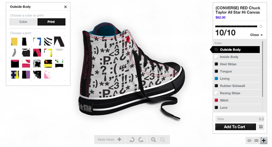 busto Árbol pausa  Design Your Own Chuck Taylor Shoes Online - Converse Chuck Taylor Shoes