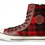 Chuck Taylor All Star Woo-Check Shin-Hi Red
