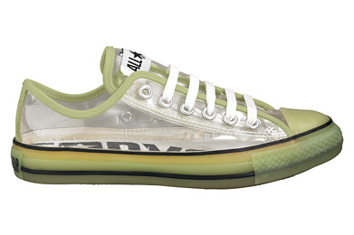 Am I just the same Converse Chuck Taylor Clear Ox?