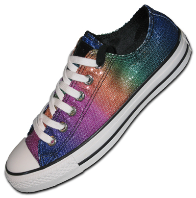 Converse All Star Low Top Rainbow Sequins