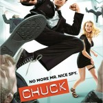 Chuck Season 3 Promotional Poster with Chuck Taylor Sneakers