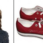 Genevieve Cortese-Padalecki Converse All Star shoes, size 7