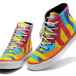 Colorful Converse Chuck Taylor High Top Canvas Shoes
