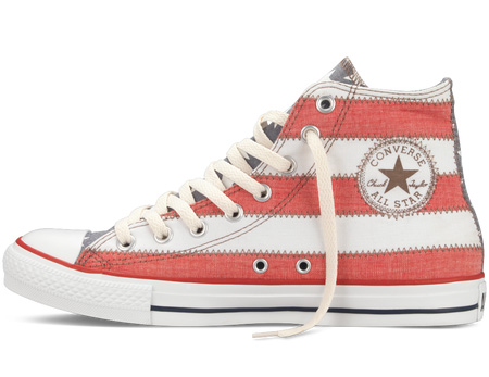 Chuck Taylor American Flag Hi - Side View