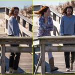 Kristen Stewart in Shabby Hi Top Chuck Taylors