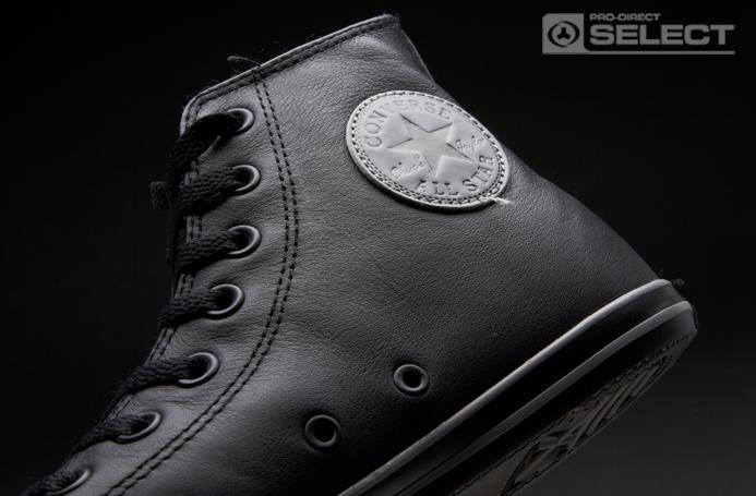 6cef77ec85cc Black Chuck Taylor All Star Slim Leather Trainer for Men
