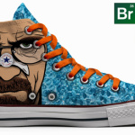 Breaking Bad-inspired chucks