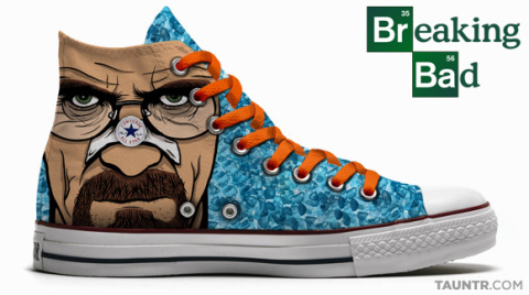 Breaking Bad Themed Chuck Taylor