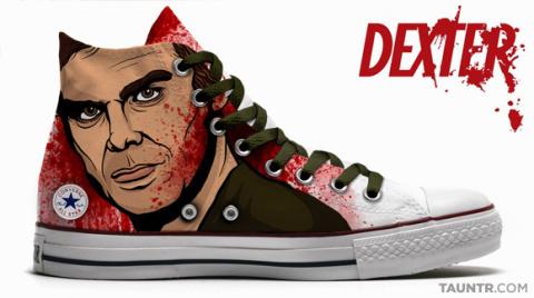 Dexter Themed Chuck Taylor