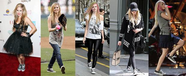 Avrial Lavigne Converse