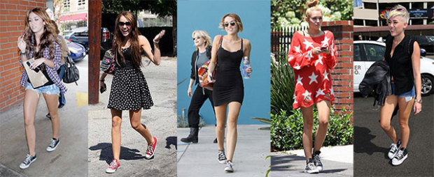 Miley Cyrus Converse