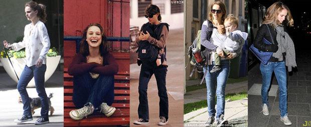 Natalie Portman Converse
