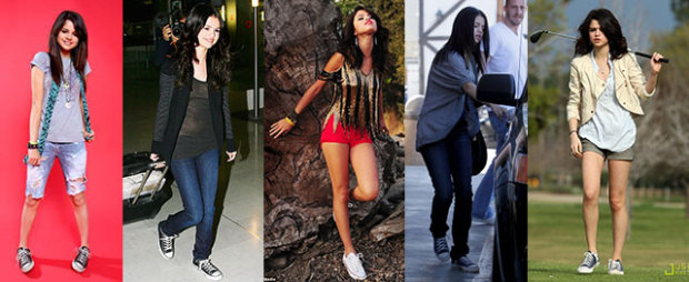 Selena Gomez Converse