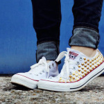 How To Make Your Own DIY Studded Converse