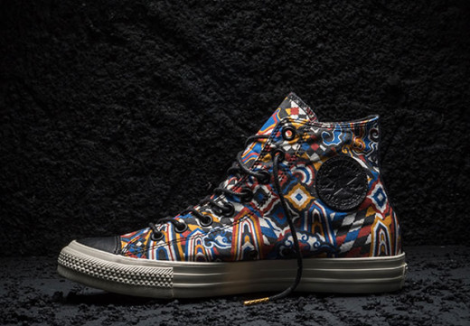 Colorful Electric Pattern Converse Chuck Taylor