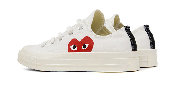 Converse All Star Chuck '70 Comme Des Garcons PLAY line ...