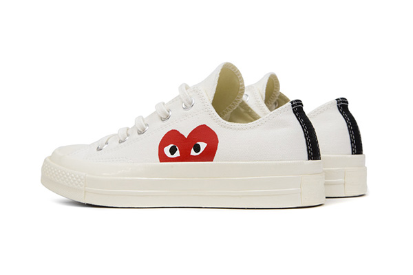 Converse All Star Chuck '70 Comme Des Garcons PLAY line series