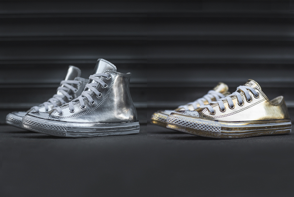 Converse Chuck Taylor Gold Silver Pack